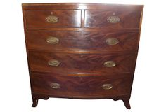 18th-C.  English  Chest of Drawers on OneKingsLane.com Fine Furniture, Chest Of Drawers, Kids Rooms, 18th, English, Country, House, Decor, Decoration