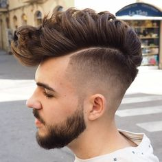Hairstyle inspiration for men who want to look cool.