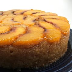 Peach upside-down cake... this looks positively marvelous!!