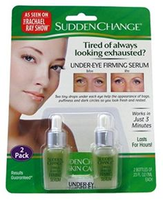 Sudden Change Under-Eye Firm Serum Pack): Helps To Lessen The Appearance Of Bags, Puffiness Under Eye Your Eyes Will Look Fresh And Rested Can Be Touched Up Anytime Works In Just 3 Minutes Lasts For Hours Anti Aging Serum, Anti Aging Skin Care, Best Eye Serum, Under Eye Puffiness, Eyeshadow For Brown Eyes, Eyes Lips Face, Eye Lift, Eyes Problems, Sudden Change