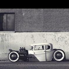 1930 model a ford air ride clunker Classic Hot Rod, Classic Cars, Mustang, Traditional Hot Rod, Air Ride, Us Cars, Dream Garage, Ford Models, Custom Cars