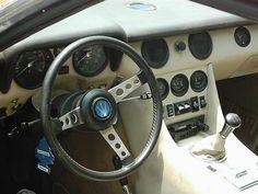 Maserati Indy interieur