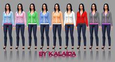 Hoddieset Sims 4  Download: http://www.mediafire.com/download/7nwrchttfy47bgq/Kalaida_Zipped_Hoodie_Pack01.rar