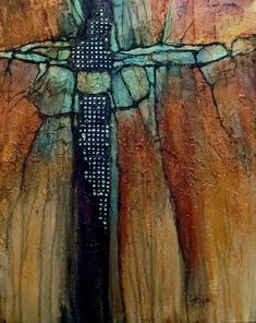 Carol is an award winning contemporary mixed media artist from Colorado and is known for her vibrant, contemporary abstracts. Description from painterskeys.com. I searched for this on bing.com/images