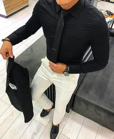 men's street style outfits for cool guys Stylish Mens Fashion, Stylish Mens Outfits, Mens Fashion Suits, Mens Suits, Ladies Suits, Casual Outfits, Gentleman Mode, Gentleman Style, Terno Slim Fit