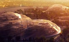 The Googleplex is going to be a gigantic biosphere!