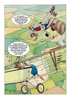 Extrait BD BISHOT tome 1 Aile et Gants. BD dessinée et scénarisée par David VOILEAUX et publiée aux Editions Révasion