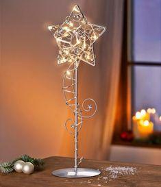 LED-Tischleuchte Stern