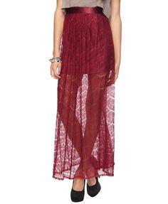 Lace Maxi Skirt - StyleSays
