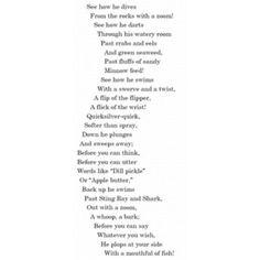 Concrete Poetry Example