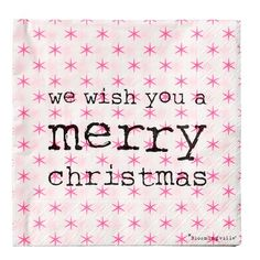 Servetten We wish you a Merry Christmas Merry Christmas, Xmas, Christmas Napkins, Christmas Inspiration, Advent, Wish, Cards, Nye, Merry Little Christmas
