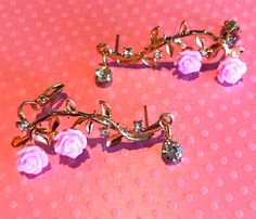 Rose, Bracelets, Jewelry, I Don't Care, Ear, Accessories, Pink, Jewels, Schmuck