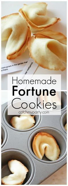 Homemade Fortune Cookie Recipe | CatchMyParty.com