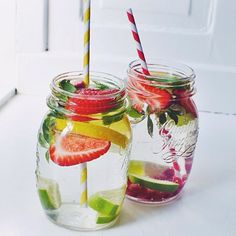 amillionbillionmiles: Fruity water for my little sister @thelipstickjungle_ and I Instagram: amillionmiless
