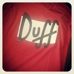 Uma das mais pedidas! Camiseta Duff Beer