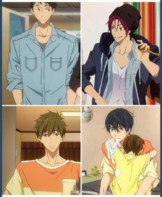 """鹿包 on Twitter: """"sourin and makoharu sharing same clothes ;A; http://t.co/wNj6hpBTW0"""""""