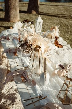 modern neutral boho bridal inspiration floral design images by alannah liddell photography to the aisle australia perth weddings bridal gowns Beige Wedding, Boho Wedding, Wedding Table, Picnic Decorations, Bridal Shower Decorations, Chic Bridal Showers, Bridal Shoot, Bridal Gowns, Boho Chic