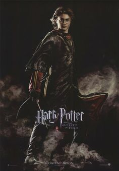 11x17 Inch Harry Potter and The Goblet of Fire poster features Harry Potter dressed in his Triwizard Tournament robes, wand at the ready, and surrounded by mist. Get it now at http://harrypottermovieposters.com/product/harry-potter-and-the-goblet-of-fire-movie-poster-style-y-11x17-inch-mini-poster/