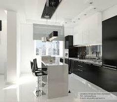 Znalezione obrazy dla zapytania kitchen black and white