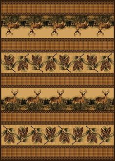 Cabela S Grand River Lodge Area Rugs 7 10 Quot X 10 6 Quot Zoom