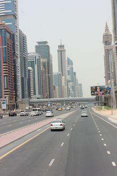 Sheikh Zayed Road, Dubai http://www.moveindubai.com/