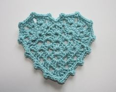 Very nice tutorial with lots of pictures.  From http://sandra-cherryheart.blogspot.com/2011/06/granny-heart-tutorial.html