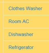 take this link with you to a retailer or when looking on line for energy efficient appliances.  the products listed here are equal to or better in enery savings than ENERGY STAR.  Each appliance category has a product locator http://www.cee1.org/content/cee-program-resources