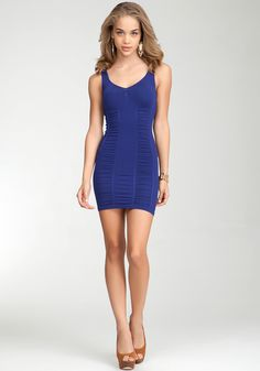 Ruched Tank Dress.