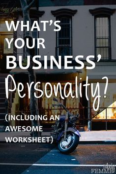 Do you know what your business' personality is? Sometimes it can be difficult to determine how casual we can be or how formal we should be. Here's an idea.