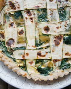 Zucchini Tart // Swe