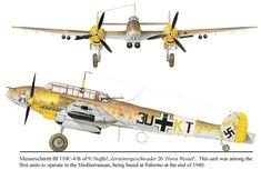 Messerschmitt Bf.110C-4/B 9./ZG 26.