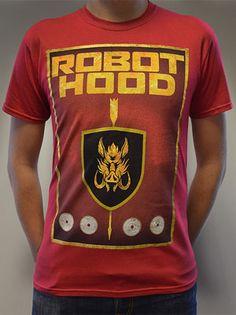 Doctor Who: Robot Hood T-Shirt