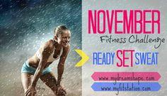November Fitness Challenge: Workout Calendar !