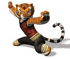 Tigress from Kung Fu Panda - She is so awesome!