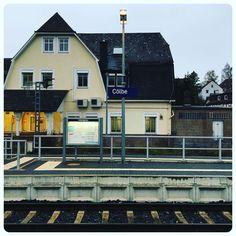 from here  Kassel.  #Cölbe #Bahnhof