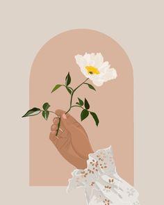 beautiful bohemian floral design