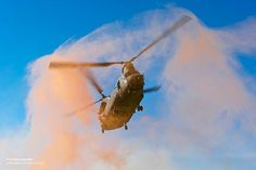 Royal Air Force Chinook During a Mission Over Afghanistan by Defence Images, via Flickr