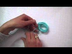 DIY/Tutorial kwastje maken - YouTube