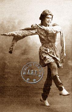 Nijinski, Ballets russes, Théâtre du Châtelet, 1911