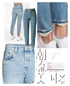 denim - love by dasha404 on Polyvore featuring polyvore, H&M, PacSun, WithChic, Hemingway, fashion, style and clothing