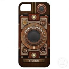 Vintage Steampunk Camera #1C iPhone 5 Case