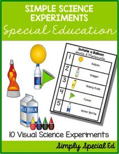Autism Classroom, Special Education Classroom, Science Classroom, Classroom Ideas, Education College, Special Education Activities, Easy Science Experiments, Science Lessons, Science Activities