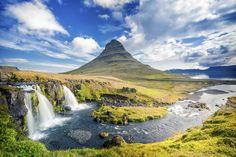 Montaña de Kirkjuffel. Iceland