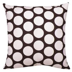 Polka pillow!
