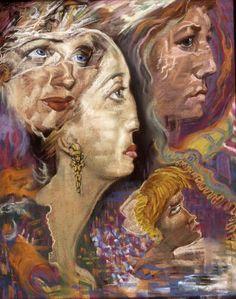 Austin Osman Spare Pagan Art, Occult Art, Austin Osman Spare, Automatic Drawing, Michael Moorcock, Aubrey Beardsley, Pastel Watercolor, English Artists, Portraits