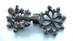 1200 A.D British Medieval Period Bronze Clothes Fastener.