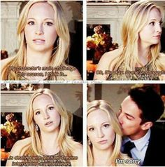 "Candice King (Caroline) and Michael Trevino (Tyler) = ""The Vampire Diaries"" Vampire Diaries Stefan, Vampire Diaries Quotes, Vampire Diaries Cast, Vampire Diaries The Originals, Supernatural Interview, Supernatural Funny, Damon Salvatore, Paul Wesley, Vampier Diaries"