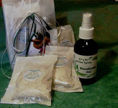 Eucalyptus Gift Set Day Spa at Home Itchy Skin by KitchenWitch1, $18.00