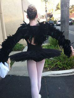 Costume inspiration: Black Swan!