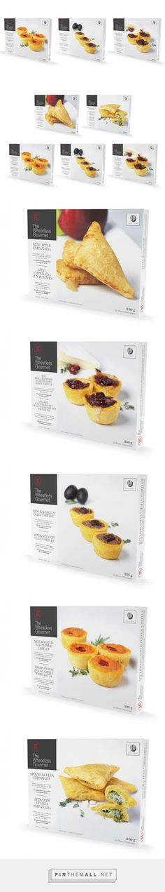 The Wheatless Gourmet - Packaging of the World - Creative Package Design Gallery - http://www.packagingoftheworld.com/2016/03/the-wheatless-gourmet.html
